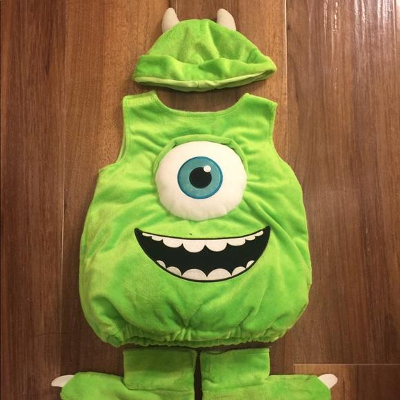 Disney Costumes Monster Inc Mike Wazowski Costume Poshmark
